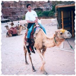 Sal on a Camel